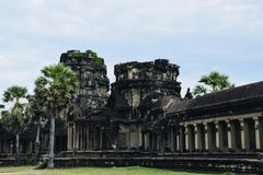 Angkor city culture dynasty Khmer architecture royalty free stock photography
