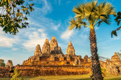 Angkor Complex. In Cambodian Nature Stock Image