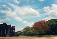 Angkor complexe Wat Stock Afbeelding