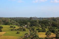 Angkor dal pallone Fotografie Stock