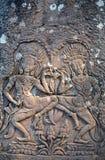 Angkor, das Apsara tanzt Lizenzfreie Stockbilder