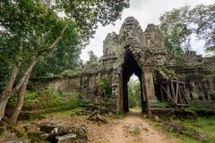 Angkor death gate Stock Image