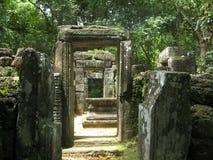 Angkor drzwi Obraz Royalty Free