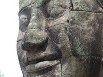 Angkor enfrenta foto de stock royalty free