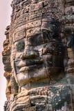 Angkor enfrenta Fotos de Stock Royalty Free
