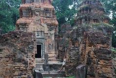 Prah Ko, temples d'Angkor, Cambodge photo stock