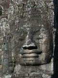 Angkor Face. Smiling face near Angkor Wat, Cambodia Stock Photography