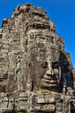 Angkor Face, Angkor Thom, Cambodia Royalty Free Stock Images