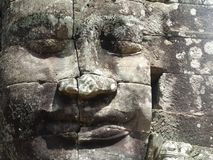 Angkor font face Image libre de droits