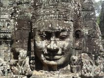 Angkor font face Photos stock
