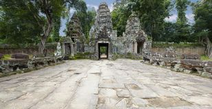Angkor gate Stock Images