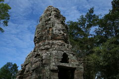 The angkor gate Royalty Free Stock Photography