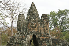 Angkor gate Stock Images