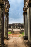 Angkor interior Wat Fotografía de archivo
