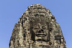 Angkor interno marcado cabeça Wat Temple imagens de stock