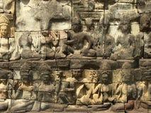 Angkor - königliche Terrasse stockbilder