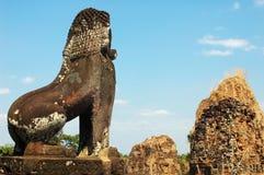 Angkor, Kambodja Royalty-vrije Stock Foto
