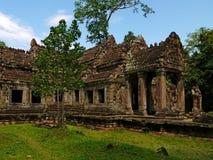 angkor khan preah寺庙 免版税库存图片