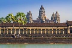 Angkor Korytarz Wat Zdjęcia Stock