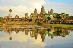 Angkor Odbicie Wat Obrazy Stock