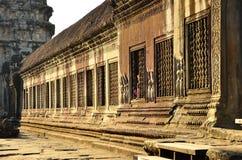 Angkor Okno Zdjęcie Royalty Free