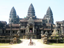 Angkor Park, Cambodia Royalty Free Stock Photography