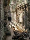 Angkor - Preah Khan Tempel stockfotos