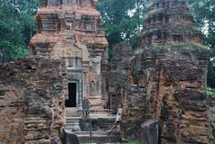 Prah Ko, Angkor temples, Cambodia Stock Photo