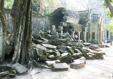 Angkor ruins Royalty Free Stock Photos