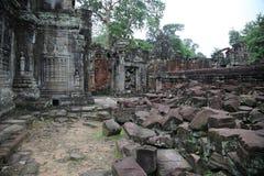 Angkor Ruins Stock Image