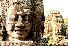 Angkor's Ancient Gods, Cambodia Royalty Free Stock Photo