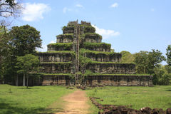 Angkor's popular temples Royalty Free Stock Image
