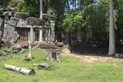 Angkor's popular temples Stock Images