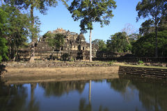 Angkor's popular temples Royalty Free Stock Images