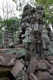 Angkor site view stock photo