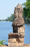 Angkor statue Royalty Free Stock Photos