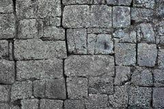 Angkor-Stein-Block-Wand Stockfotos
