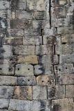 Angkor-Stein-Block-Wand Stockbilder