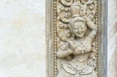 Angkor stone carve Royalty Free Stock Image