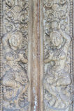 Angkor stone carve Stock Images