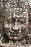 Angkor Stone Face stock photography