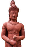 Angkor style sculpture Royalty Free Stock Images