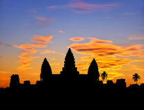 Angkor sunset Stock Photos