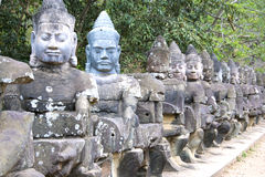 νότος πυλών της Καμπότζης angkor t Στοκ εικόνες με δικαίωμα ελεύθερης χρήσης