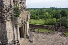 Angkor tempel Bakong Royaltyfri Foto