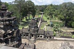 Angkor tempel Baphuon Arkivbilder