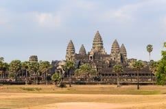 Angkor-Tempelkomplex Lizenzfreie Stockfotos