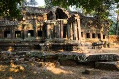 Angkor-Tempelkomplex Stockfotos