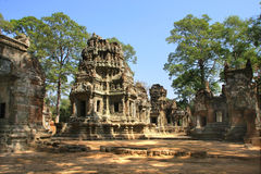 Angkor Temple Royalty Free Stock Photography