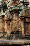 Angkor temple of Banteay Srei, Cambodia Stock Images